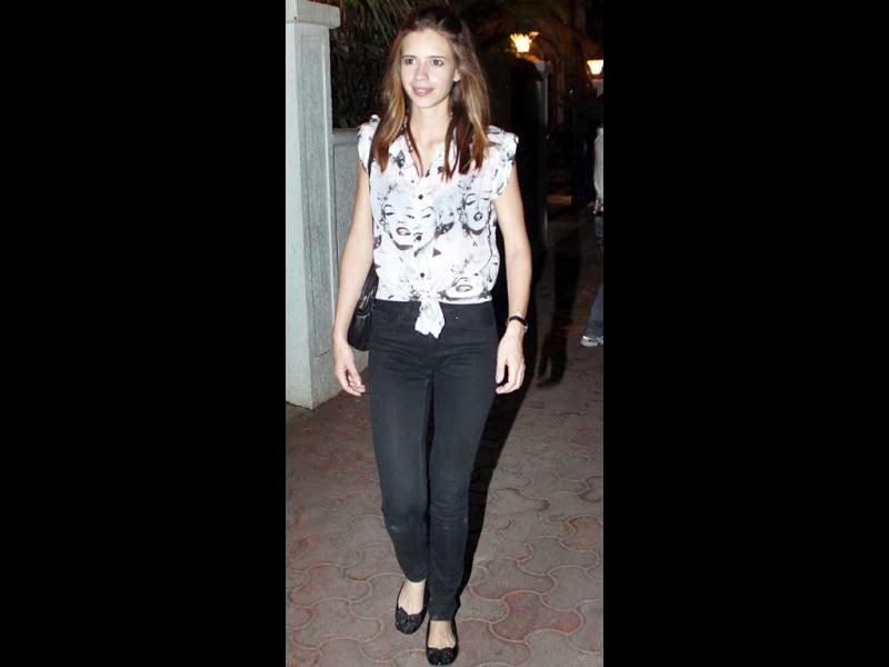 Kalki also attended Ranbir's bash.