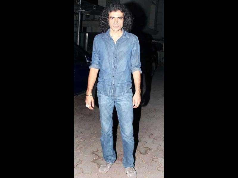 Imtiaz Ali at the do.