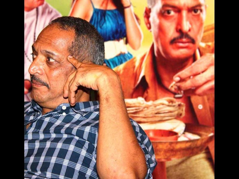 Nana Patekar lost in a deep thought at a promotional event of his movie Kamaal Dhamaal Malamaal. (UNI Photo)