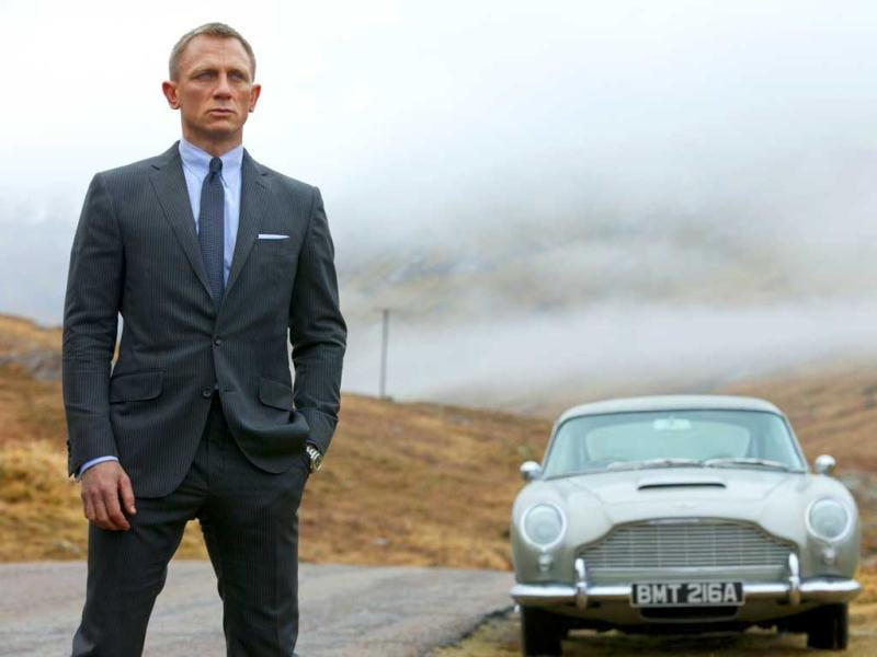 Daniel Craig as James Bond in the action adventure film, Skyfall. Agent 007 is real to millions of moviegoers, and once again they will flock to see Bond battle for queen and country when his 23rd official screen adventure,