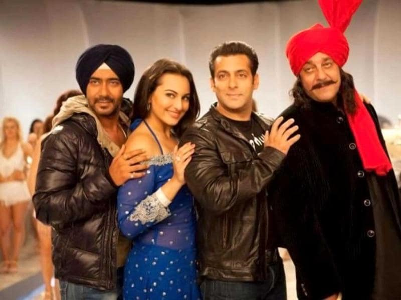 Son Of Sardaar features Ajay Devgn in surd avatar, along with Sonakshi Sinha and Sanjay Dutt. Salman Khan will be seen in an item song in the film.