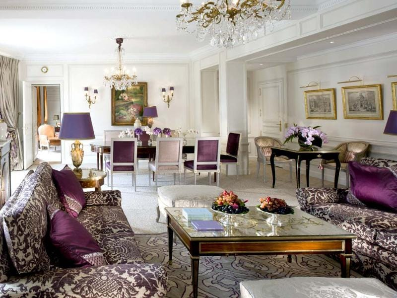 The Royal Suite's lounge