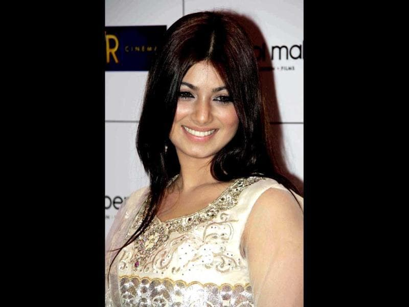 Ayesha Takia is all smiles at the gala event.