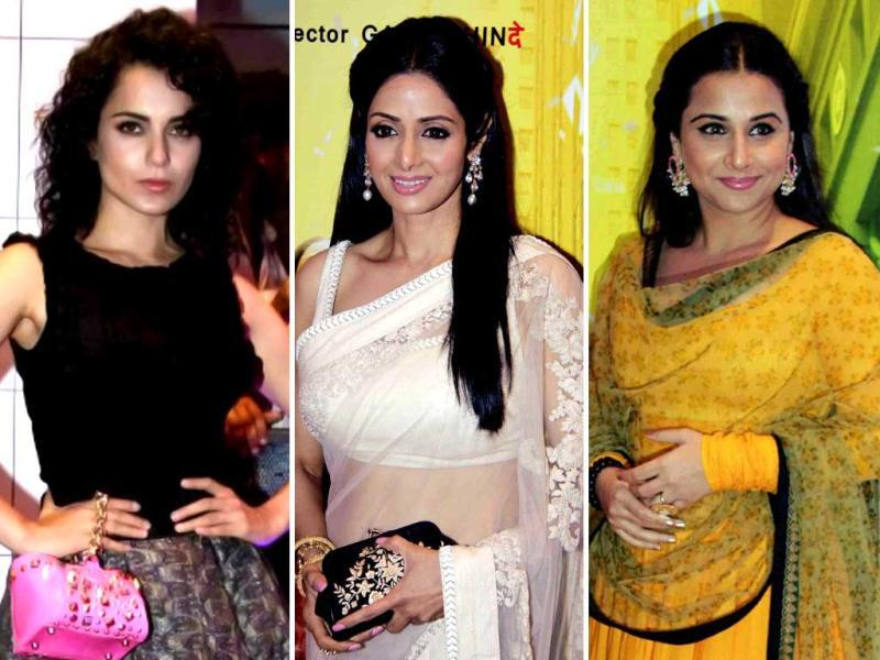 Bollywood celebrities couldn't afford to miss Sridevi's comeback film English Vinglish. A-listers of the industry were in full attendance at the premiere of the film. See for yourself!
