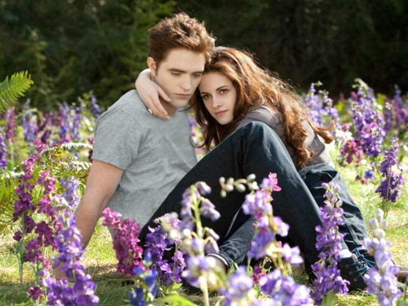 Robert Pattinson and Kristen Stewart come together for new stills from Twilight franchise: Breaking Dawn Part 2.
