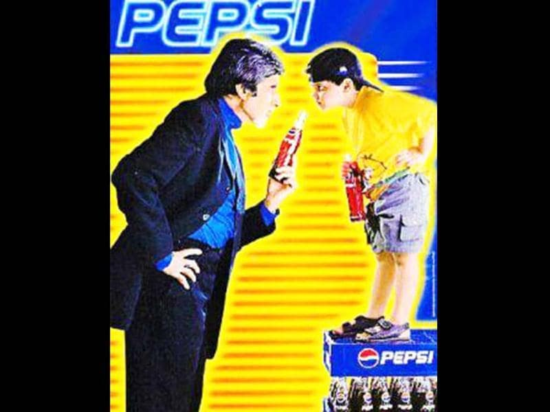 Amitabh Bachchan is still remembered for a very old Pepsi adert which he shot in 2001.