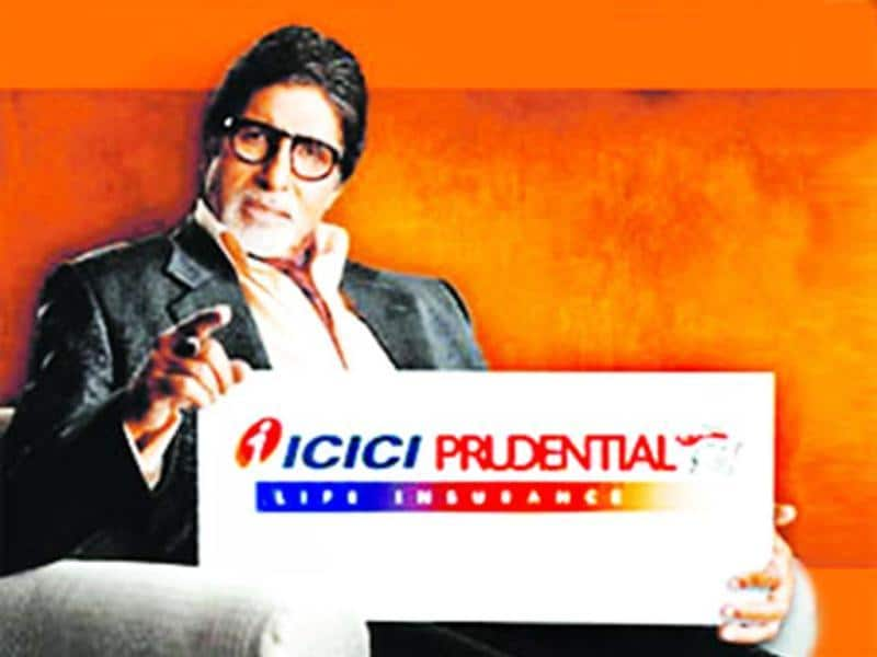 Big B also endorses ICICI prudential among many other brands.