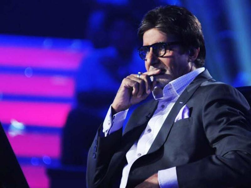 Amitabh Bachchan in a still from his popular reality show Kaun Banega Crorepati. Amitabh Bachchan has become the face of the show.