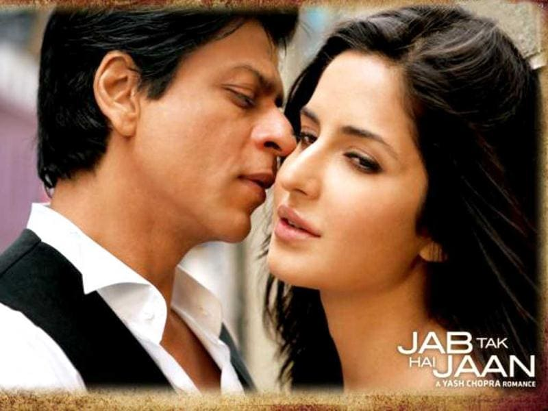 SRK and Katrina pair up for the first time in Yash Chopra's last directorial film Jab Tak Hai Jaan.