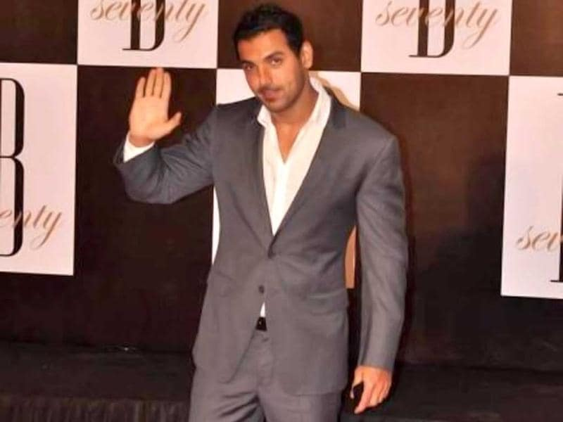 John Abraham also came for the gala event.