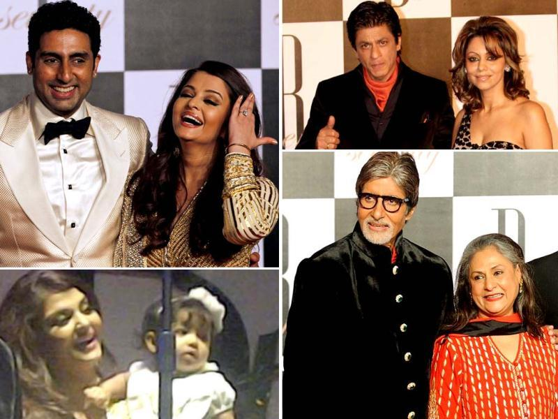 As the megastar turned 70, the creme dela creme of Bollywood were in full attendance to wish the legend, Amitabh Bachchan. Here's the pictures from the bash