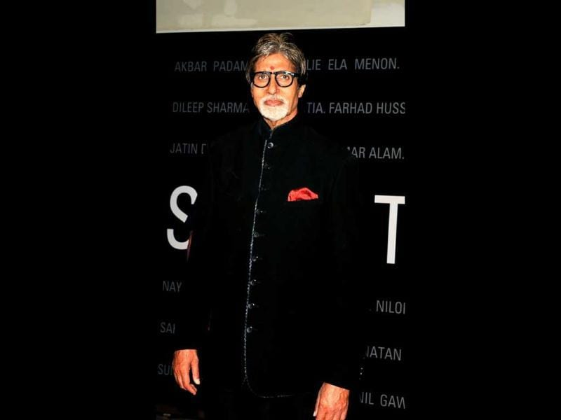 Amitabh Bachchan graced the event with his presence.