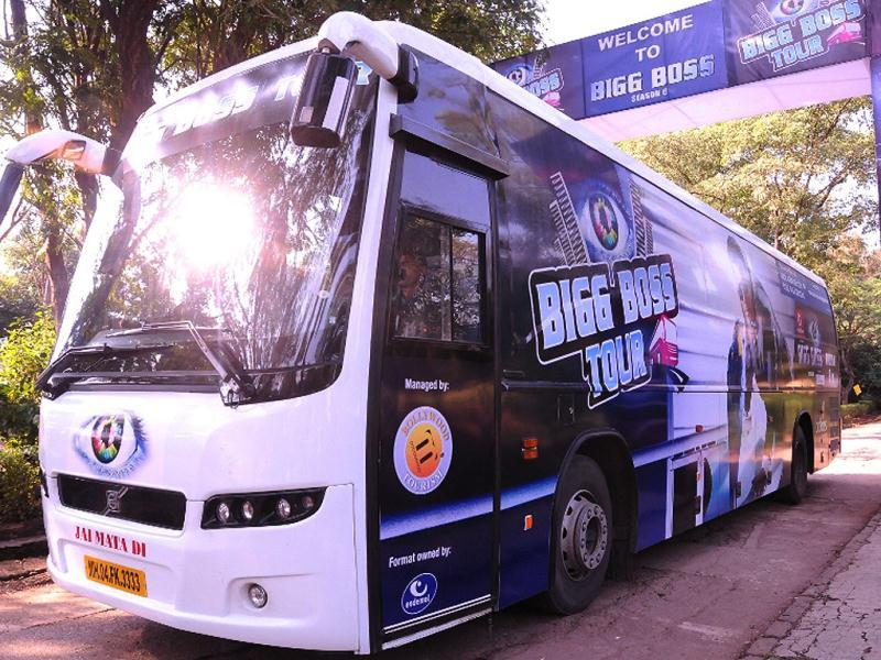 The Bigg Boss bus