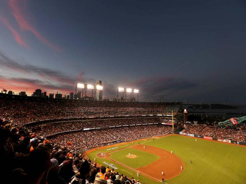 A general view of Game Two of the National League Championship Series between the San Francisco Giants and the St. Louis Cardinals in San Francisco, California. AFP/Ezra Shaw