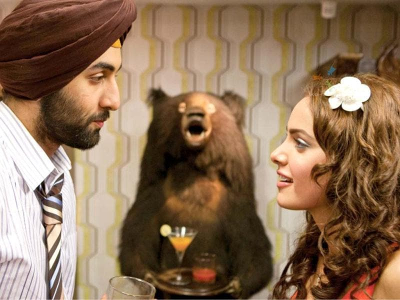 The next debutante actress to be seen with Ranbir was Shazahn Padamsee in Rocket Singh: Salesman of the Year (2009).
