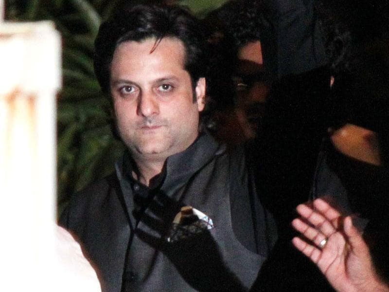 Bollywood actor Fardeen Khan also came for the gala event. (Photo/Prodip Guha)