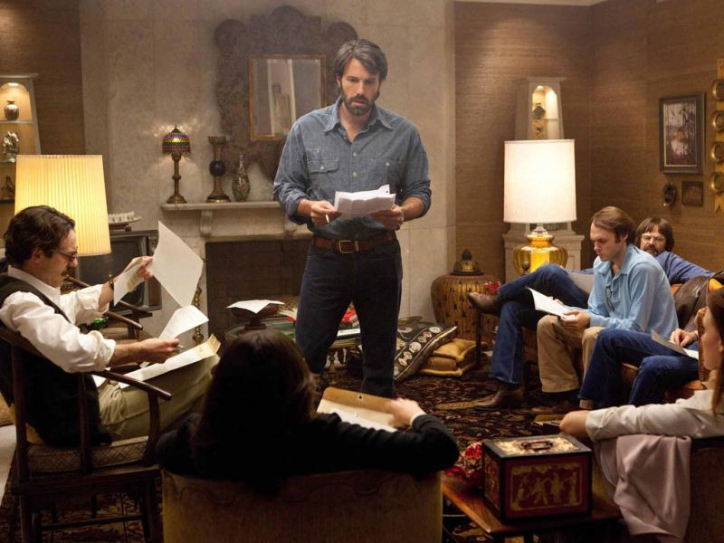 In Argo, a CIA 'exfiltration' specialist (Ben Affleck) concocts a risky plan to free six Americans who have found shelter at the home of the Canadian ambassador.