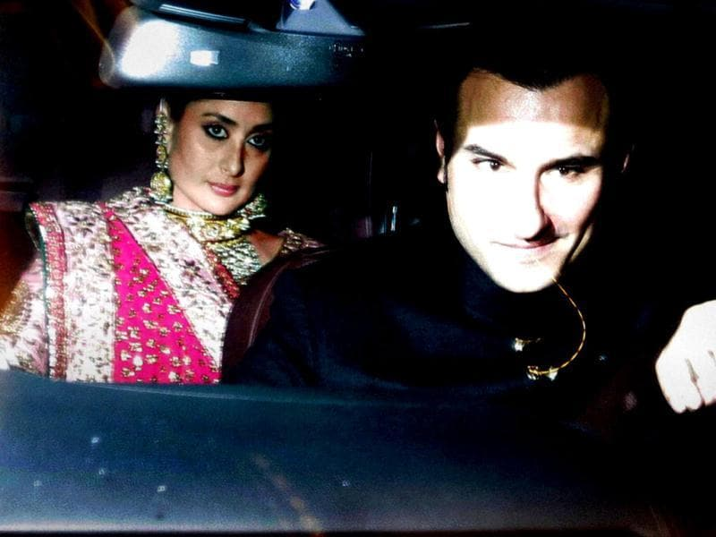 Saif Ali Khan and Kareena Kapoor's grand wedding reception held at 31, Aurangzeb Road, New Delhi saw the who's who from politics and Bollywood. Check out!