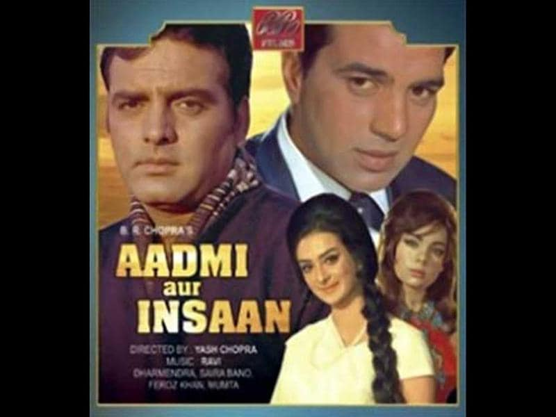 Aadmi Aur Insaan (1969): This the only movie in which Yash Chopra and Dharmendra have worked together.