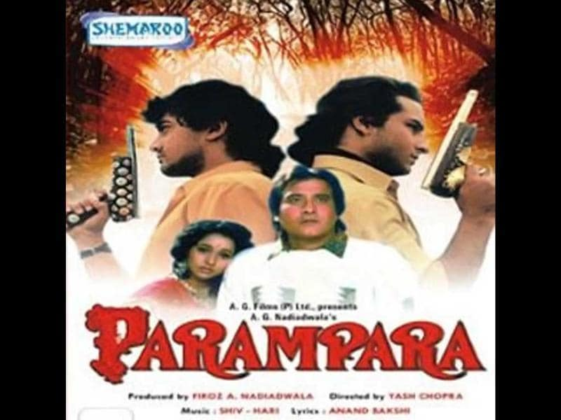 Parampara (1992): Aamir Khan, Sunil Dutt, Vinod Khanna, Ashwini Bhave , Ramya Krishna, Saif Ali Khan, Raveena Tandon, Neelam Kothari and Anupam Kher featured in the films.