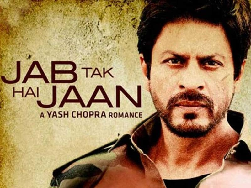 Jab Tak Hai Jaan (2012) The film is about an ex-army man, leading a double life in London, must choose between his wife and muse. It stars SRK, Anushka Sharma and Katrina Kaif. This was Yash Chopra's last film as a director.