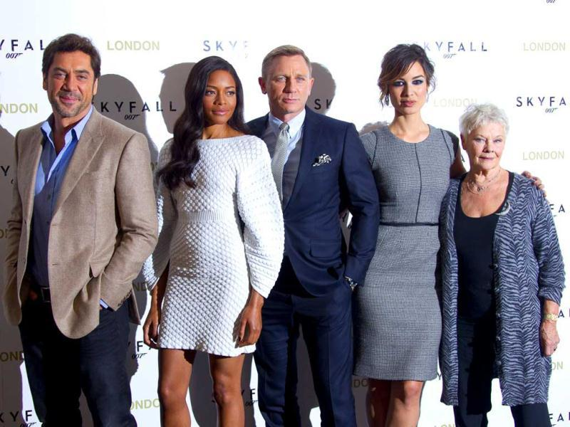 The 23rd James Bond film, the much-awaited Skyfall has premiered at last. The stars, including Daniel Craig, Javier Bardem and Dame Judi Dench, were all present in full strength at the UK premiere of the film.