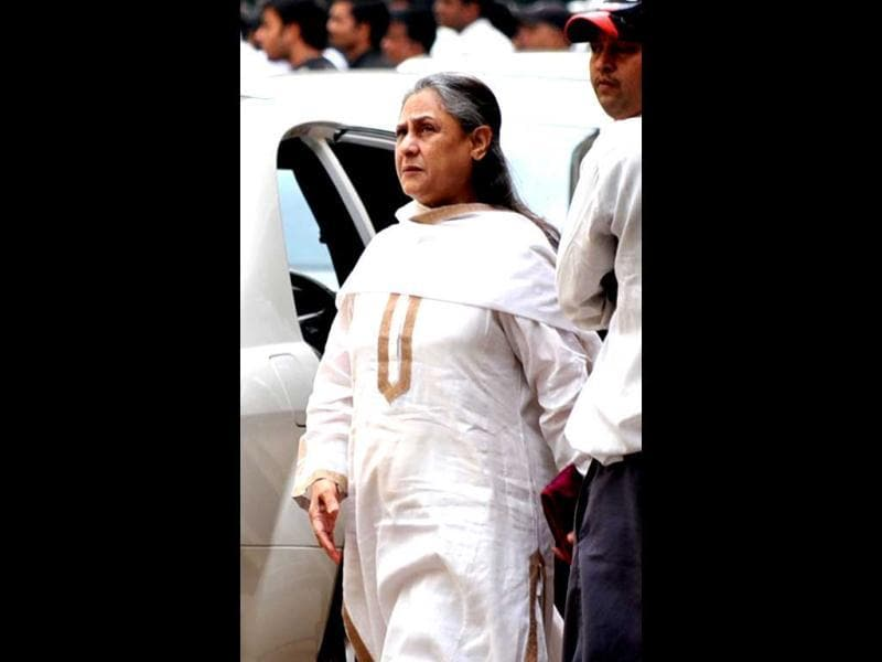 Jaya Bachchan was also spotted.