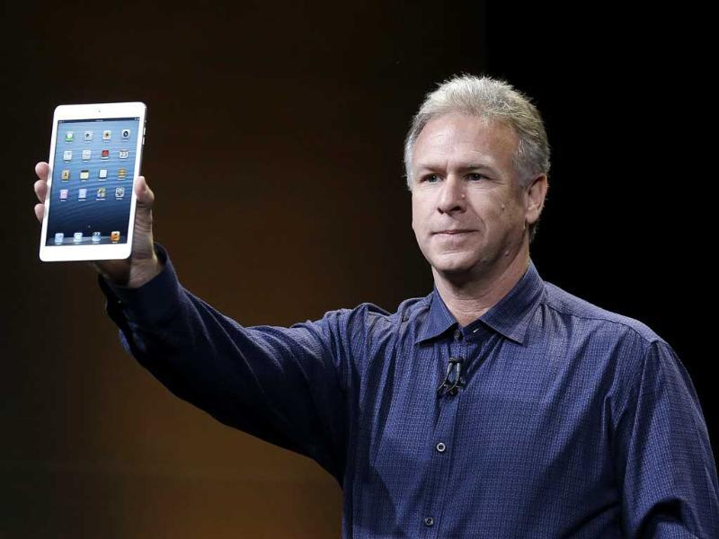 Phil Schiller, Apple's senior vice president of worldwide product marketing, introduces the iPad Mini in San Jose, California. AP Photo/Marcio Jose Sanchez