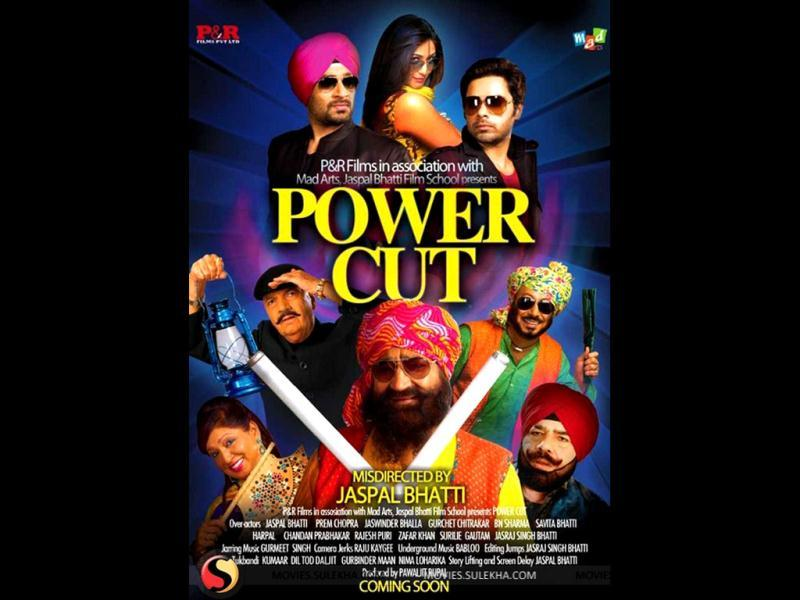 A poster from the film Power Cut.