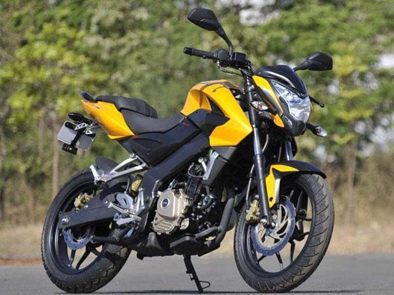 Bajaj Auto has launched its all-new technology-laden Pulsar 200NS. Have a look at the detailed image gallery of the stylish new Pulsar.