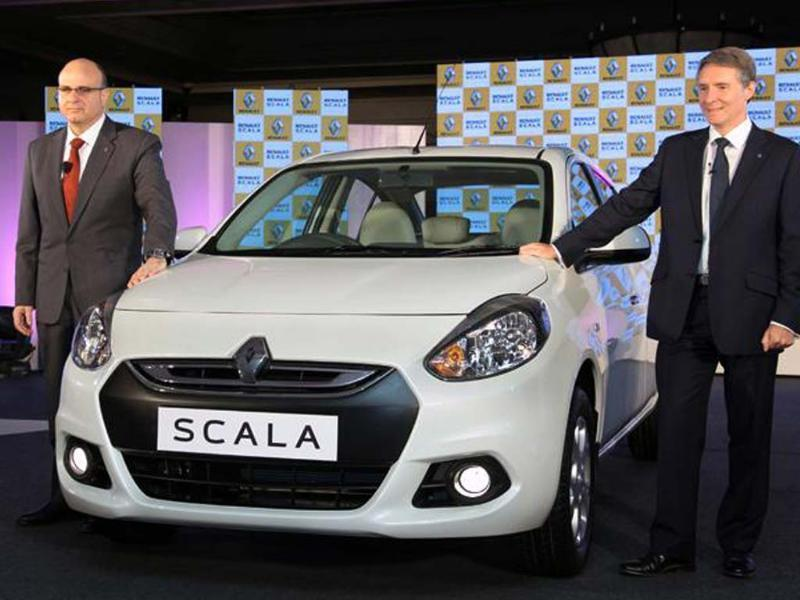 Renault will add an auto 'box to the Scala to make it more competitive against its rivals, will be launched in a couple of months.