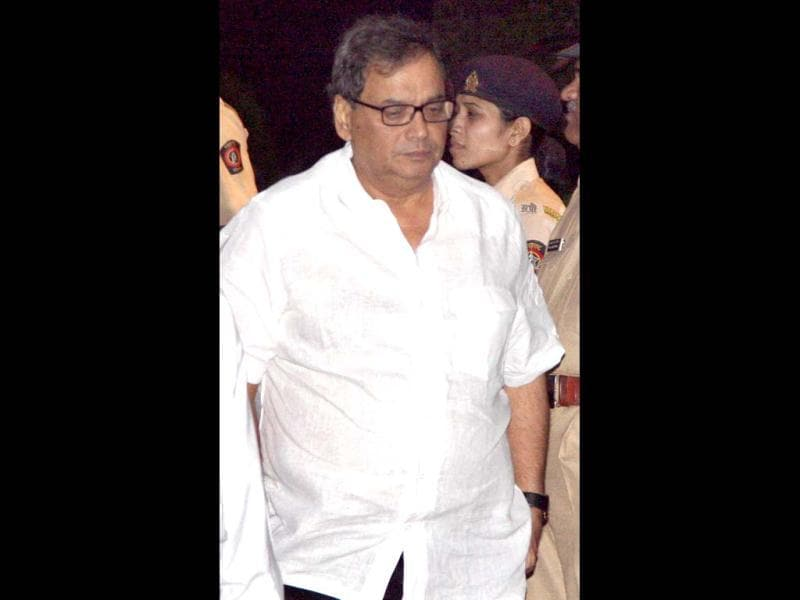 Subhash Ghai also made it to the ceremony.