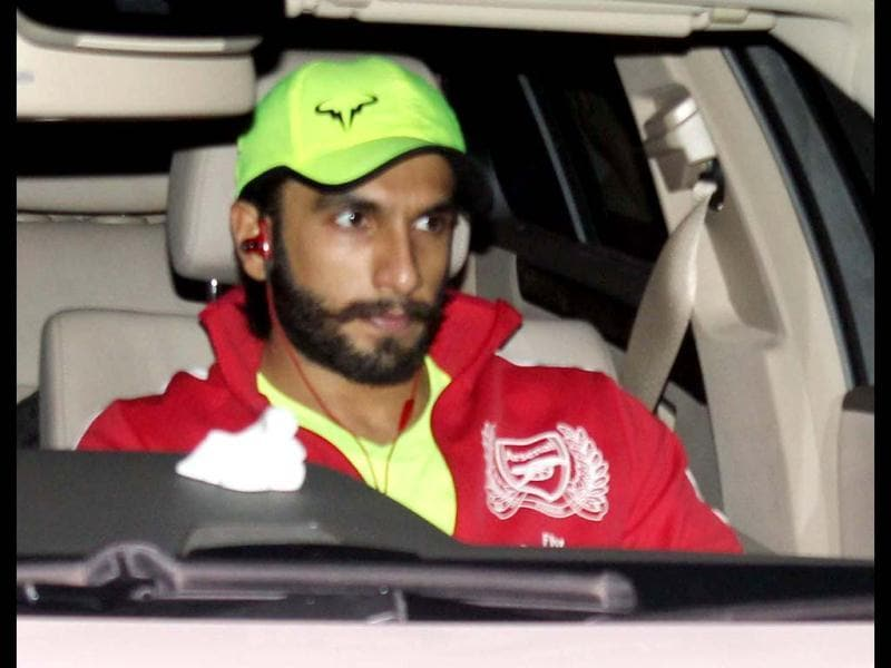 Ranveer Singh also arrives for Yash Chopra's Chautha.