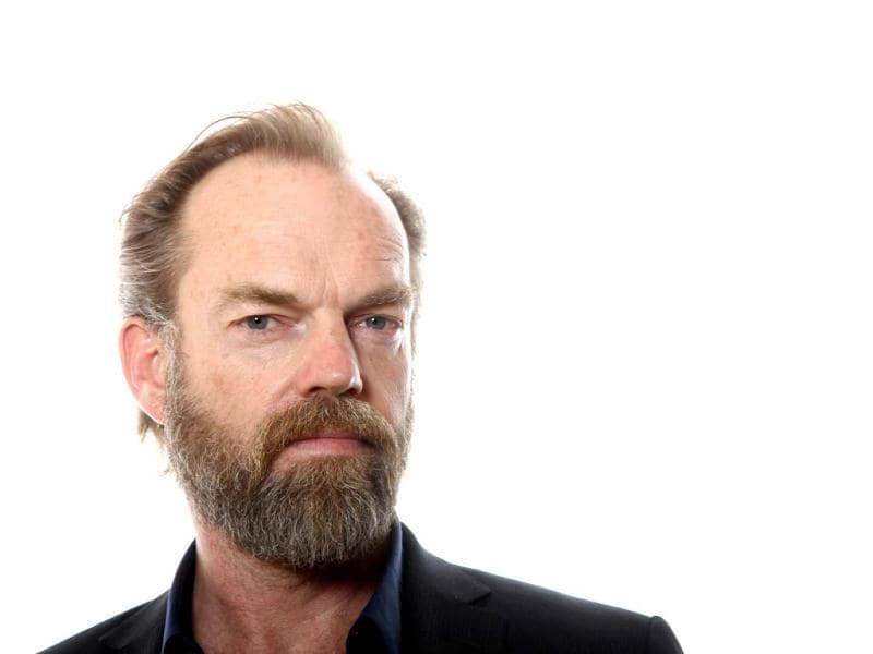 Actor Hugo Weaving from the upcoming film Cloud Atlas poses for a portrait in Beverly Hills, California.