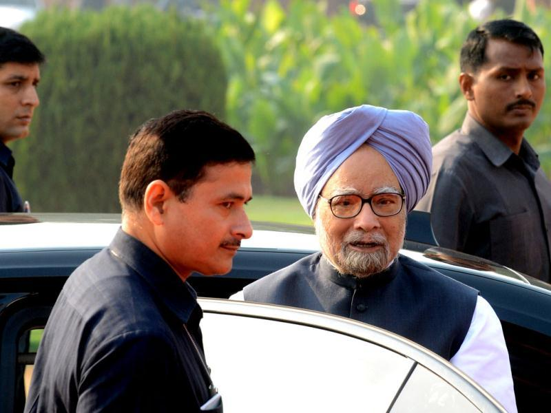 Prime Minister Manmohan Singh is expected to revamp his cabinet to try and revive the government ahead of polls in 2014. AFP Photo