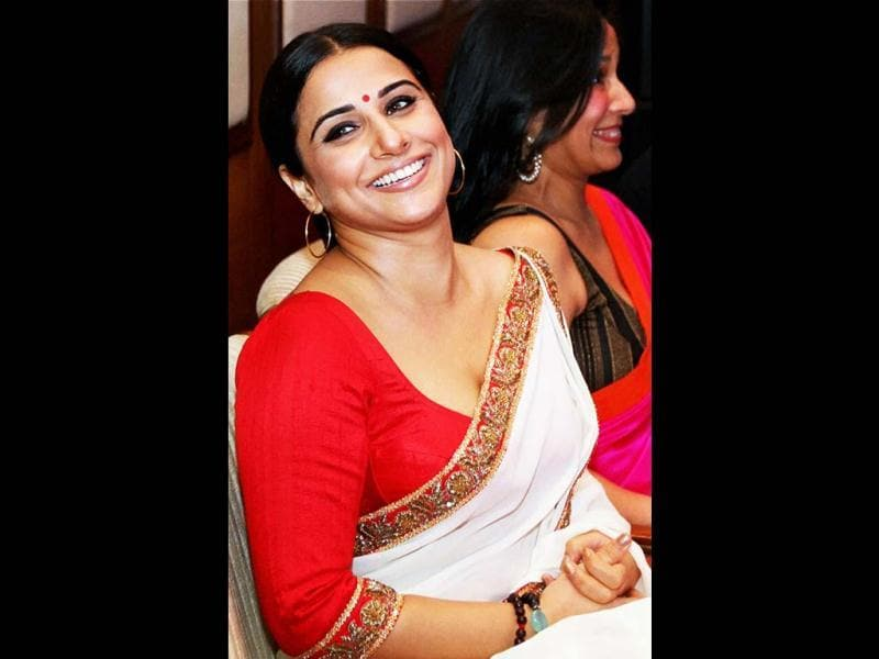 Vidya Balan during the formal announcement of Indian Film Festival of Melbourne at a press conference in Mumbai. (PTI)
