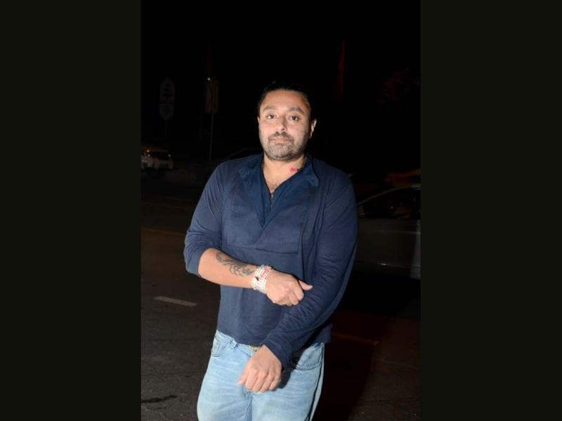 Vikram Chatwal was also seen at the event.