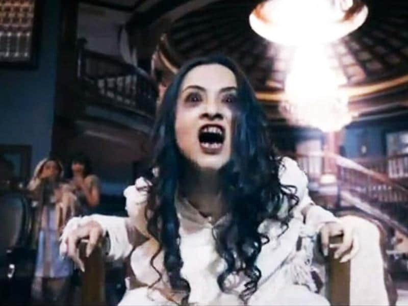 Smruti, played by Tia Bajpai gets possessed by a spirit (Sagar Saikia)and goes out of control in the film.