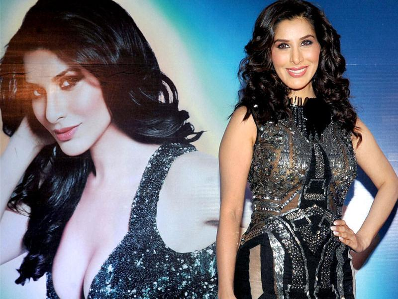 Sophie Choudry looks hot at the launch. (PTI Photo)
