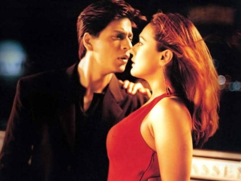 Kal Ho Naa Ho featured SRK as a terminally ill patient who falls in love with his neighbour played by Preity Zinta.