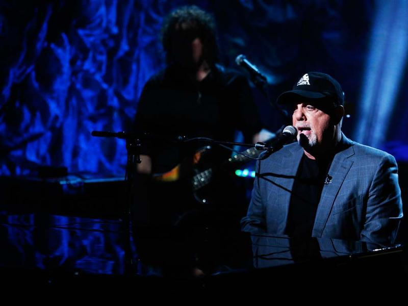 Musician Billy Joel performs during Hurricane Sandy: Coming Together, a Red Cross telethon on NBC to benefit victims of Hurricane Sandy in New York. Reuters photo