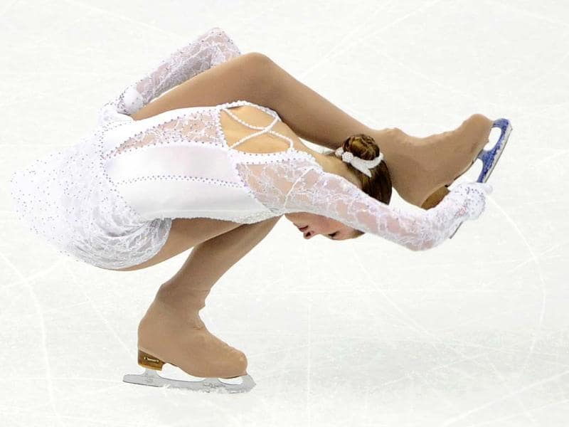 Julia Lipnitskaia of Russia performs her routine in the Ladies Free Skating program during the Cup of China, the third event on the ISU Grand Prix figure skating tour, in Shanghai. AFP photo
