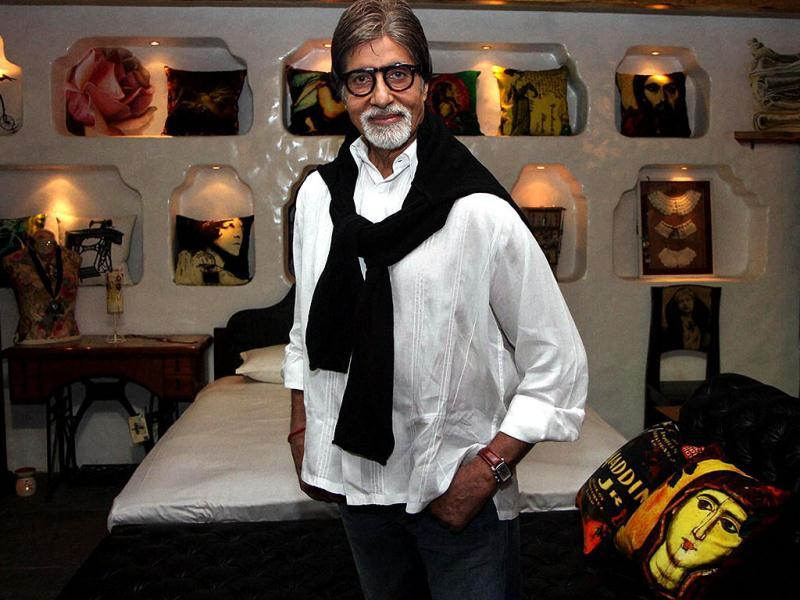 Veteran Bollywood actor Amitabh Bachchan certainly is a connoisseur of fine arts, here's proof!
