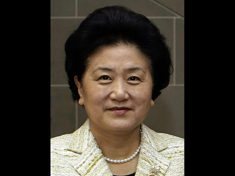 Liu Yandong is seen during an official working visit in Bern, Switzerland. Reuters file photo