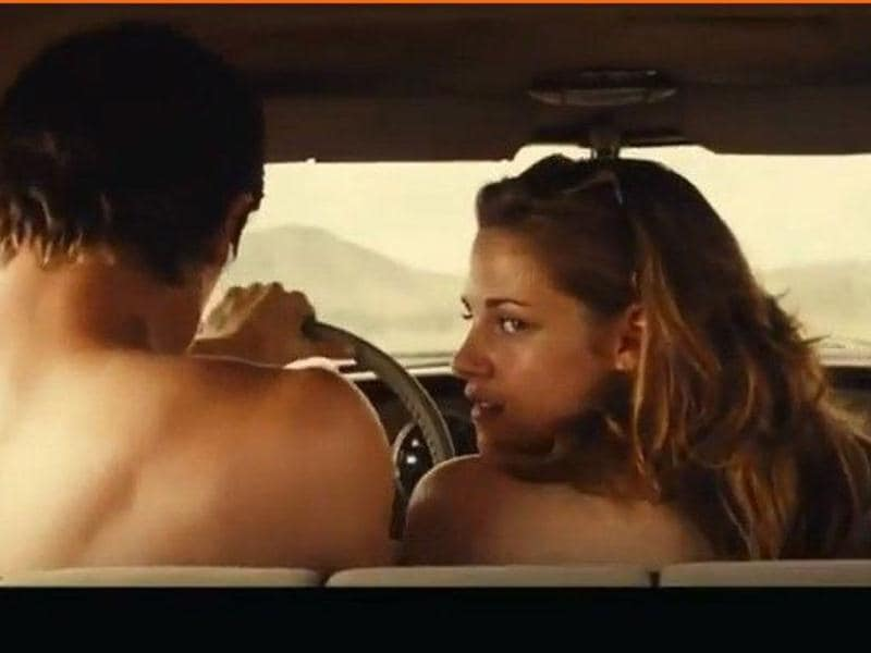 Kristen Stewart has left her innocent image behind by stripping in the flick where she plays a teenager bride to co-star Garrett Headland. Her bare back scene in the trailers are already much talked about.