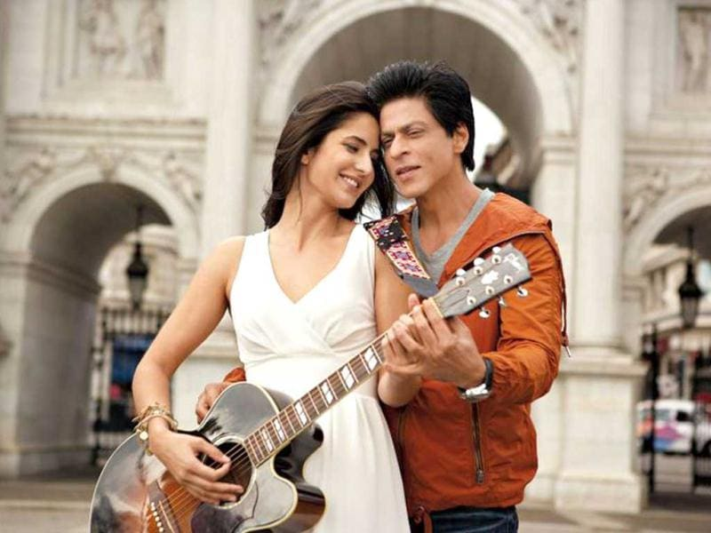 Katrina Kaif and Shah Rukh Khan will be seen romancing for the first time on the silver screen.