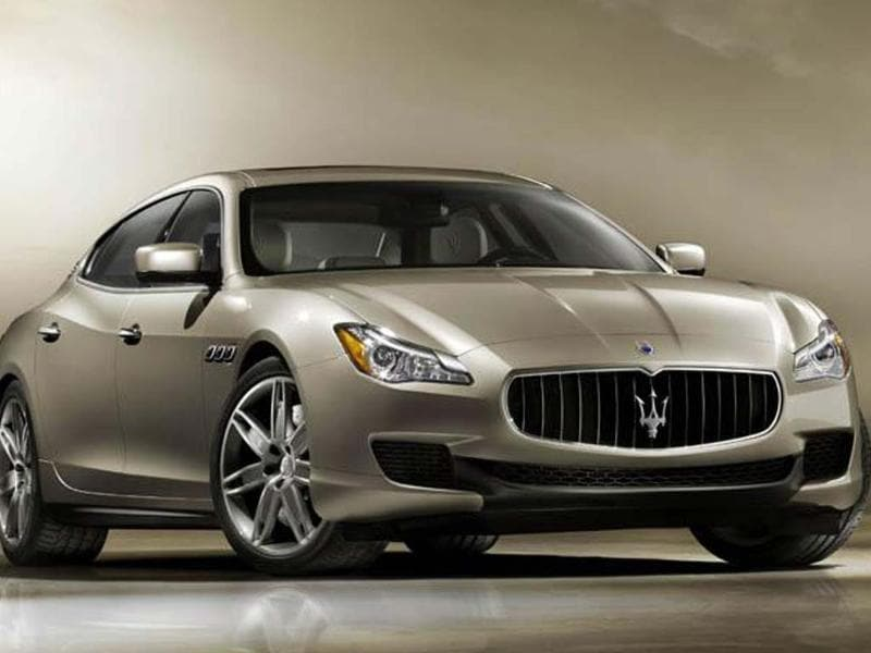 The new Quattroporte will be revealed at the Detroit motor show in January