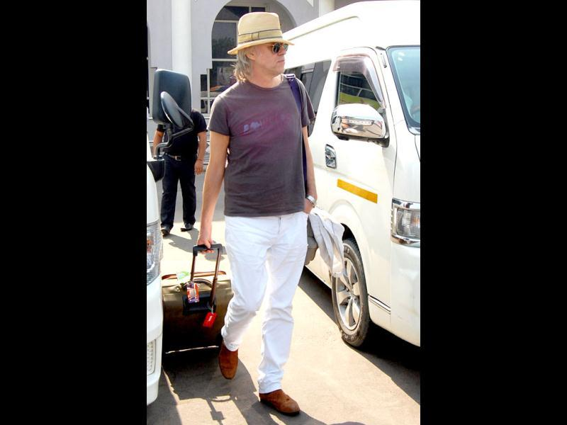 Irish musician and activist, Sir Bob Geldof arrived in Jodhpur for the big bash.