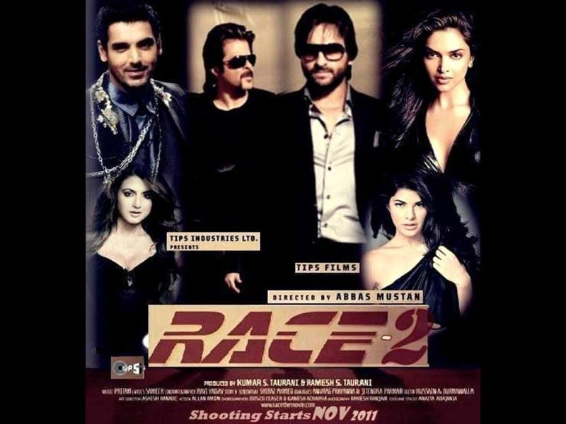 Action thriller Race 2 is helmed by Abbas-Mustan.