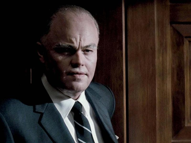 In the J. Edgar biopic, Leonardo played the powerful head of the FBI for nearly 50 years, who looks back on his professional and personal life.